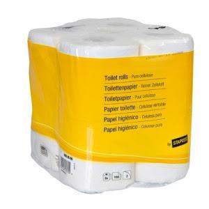 Staples nur in den Läden Toilettenpapier 8x200 Blatt 2lagig 1,19 mit Gutschein
