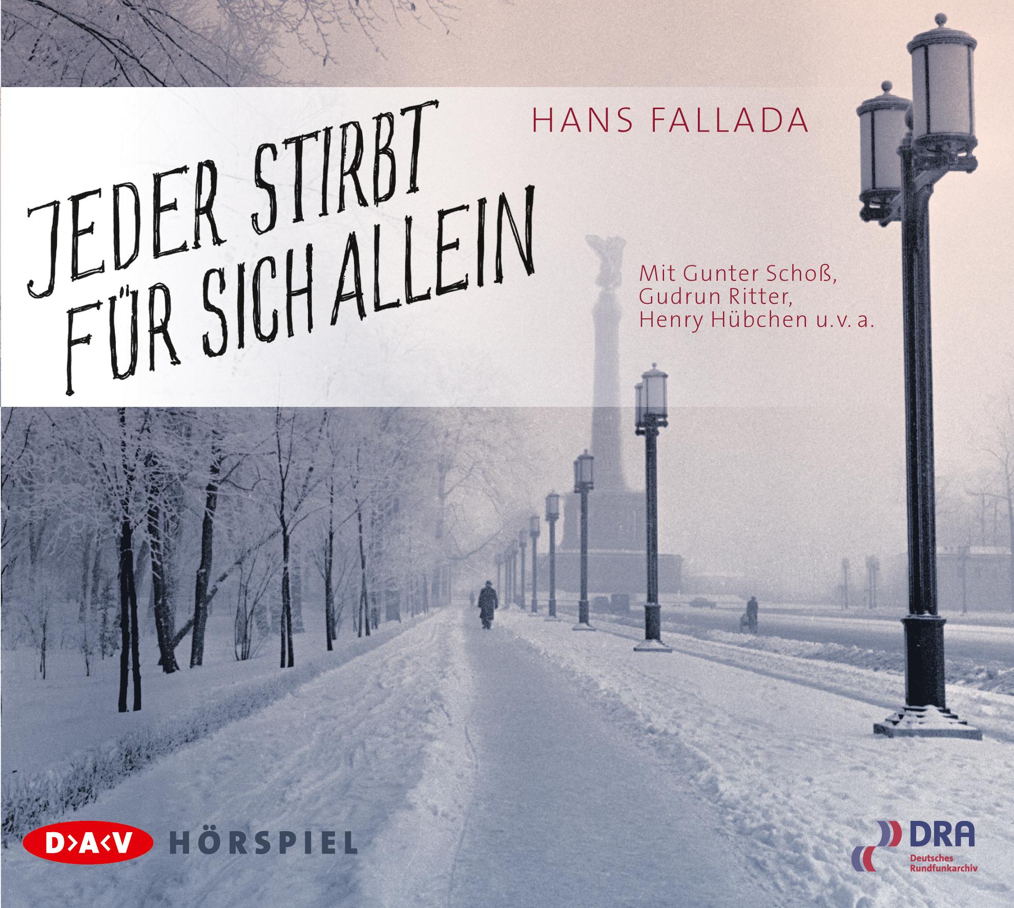 Hans Fallada • Jeder stirbt für sich allein - Gratis-Hörspiel als Stream bei MDR Kultur (mp3-Download mit JDownloader möglich)