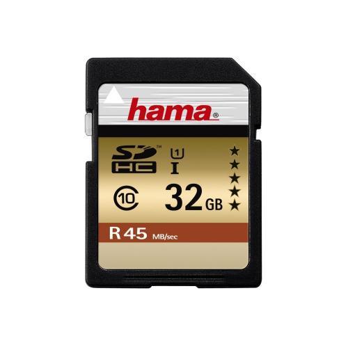 Hama 32 GB SDHC - UHS-I (45MB/s) Class 10 Memory Card für 18,99€ inkl. Versand