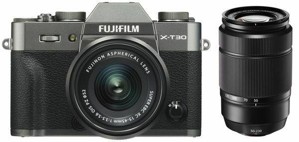 Fujifilm X-T30 + XC 15-45mm OIS PZ + XC 50-230mm OIS II schwarz/anthrazit/silber