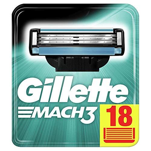 (nur Amazon Kunden, die erstmalig ein Sparabo abschließen) Gilette Mach3 18er Pack Sparabo 17,01€