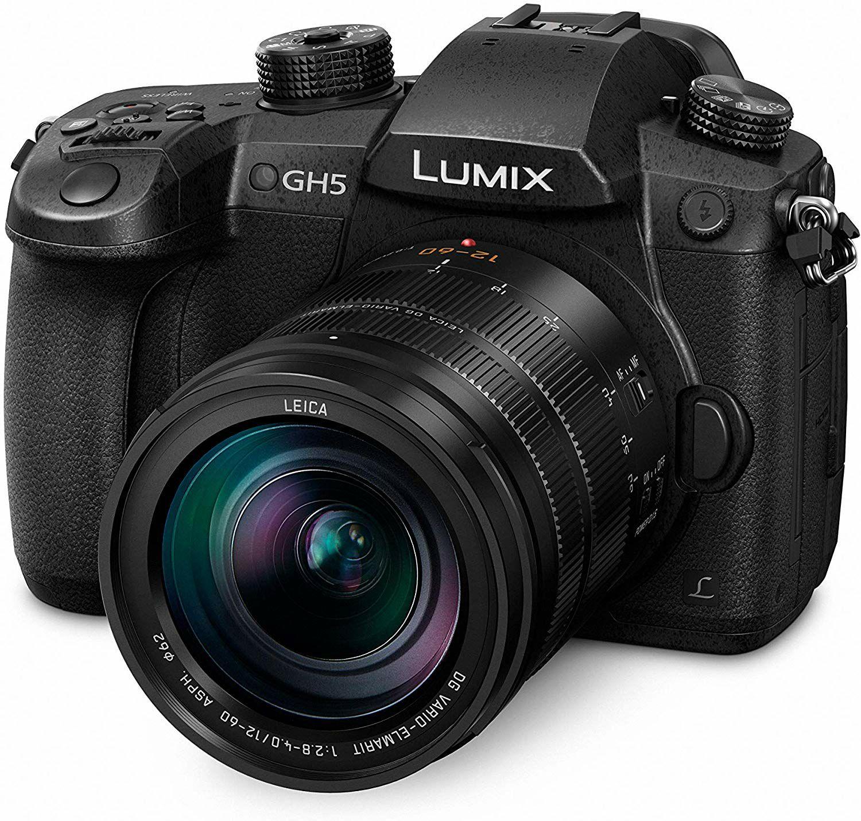 Panasonic Lumix DC-GH5 Systemkamera MFT mit Objektiv DG Vario Elmarit 12-60mm Leica 2.8-4.0 ASPH (Amazon.es)
