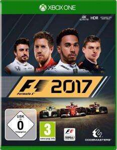 F1 2017 & Agony (Xbox One) für je 4,99€ (Media Markt)