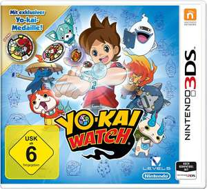 Yo-Kai Watch: Special Edition (3DS) inkl. exklusiver Medaille für je 7,50€ (Amazon Prime & Real)