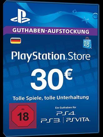 Playstation Network Guthaben 30€( Eff.Preis 22.64)