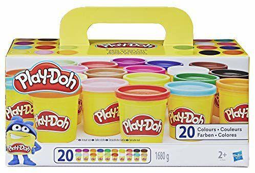 (Prime) Play-Doh Knet Set / Inhalt 20 Farben (>1,6kg) neue und alte Version für 9,99€