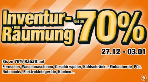 [Lokal-Berlin] - Ausstellungsräumung bei Innova Berlin und Hamburg - bis 70%