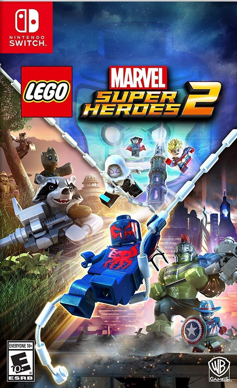 Lego Marvel Superheroes 2 (Nintendo Switch) für 17,77€ inkl. Versand (Amazon.com)