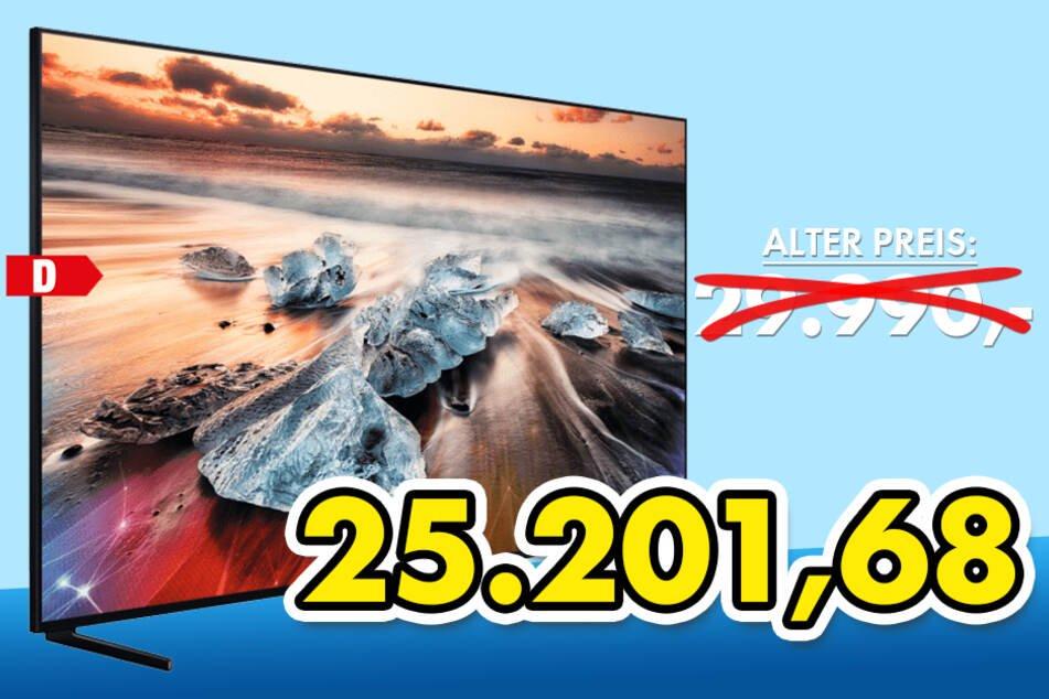 Lokal Euronics: Samsung GQ98Q950RGT 248cm 98 Zoll 8K QLED TV für 25.201,68€ + 2000€ Samsung Cashback! ;-)