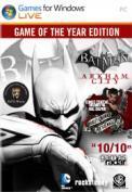 Batman: Arkham City GOTY 7,49€ bei gamersgate [Games For Windows Live]