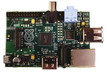 Raspberry Pi Typ B (ab Bestellung von 2 Stück)