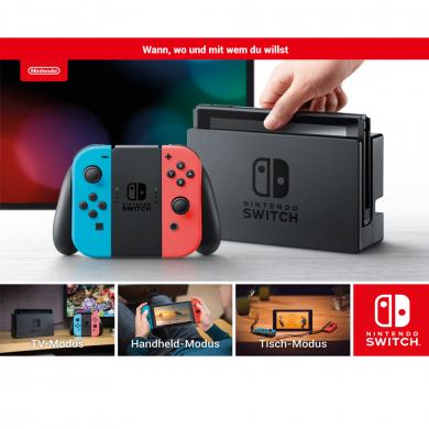 Nintendo Switch für 255.- bei 1.000 BahnBonus-Punkten