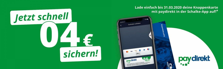 (Knappenkarte) Jetzt schnell 04 € sichern ! Für die Bezahlkarte für die VELTINS-Arena