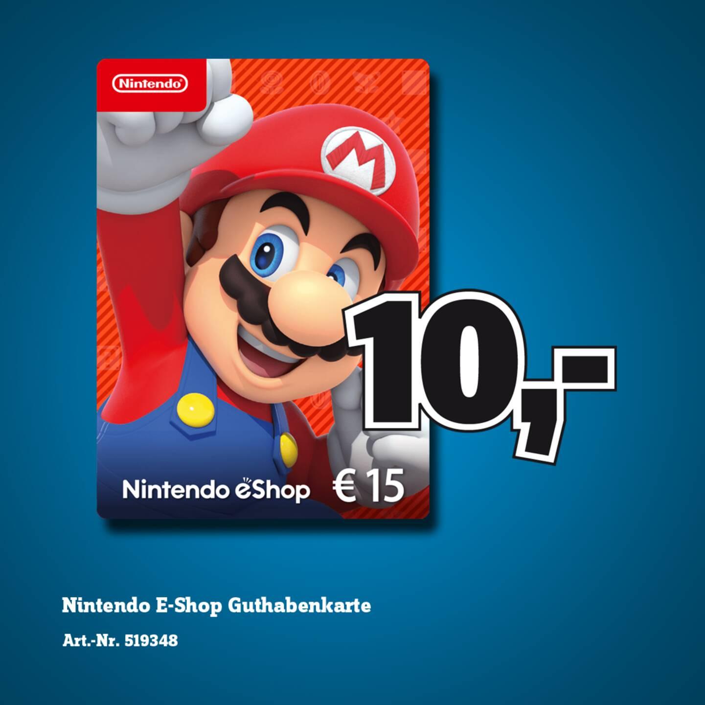 [LOKAL] 20€ PSN Guthaben für 15€ // 15€ Nintendo eShop-Guthaben für 10€ // 50€ Steam Guthaben für 40€ @ Conrad Mainz, Stuttgart und Mannheim