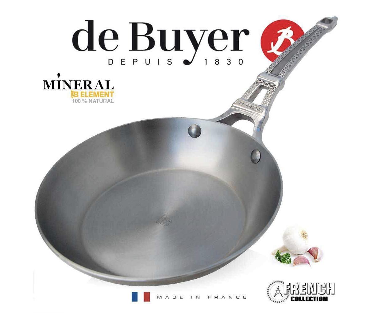DeBuyer 5670.24 Eisen Bratpfanne / French Collection - Mineral B / amazon Italien