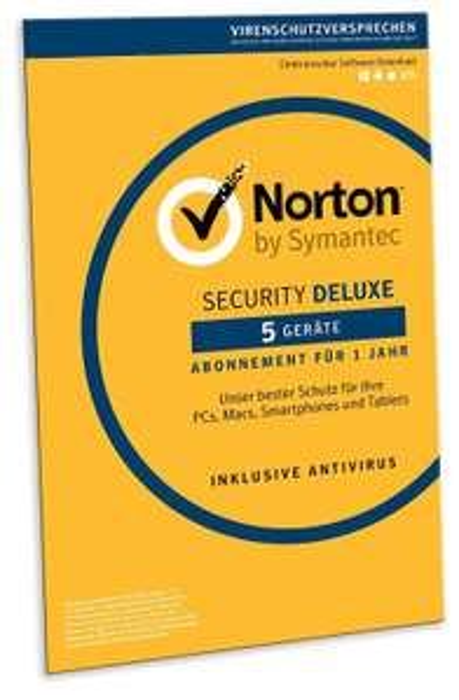 Norton Security Deluxe 5 Geräte 1 Jahr
