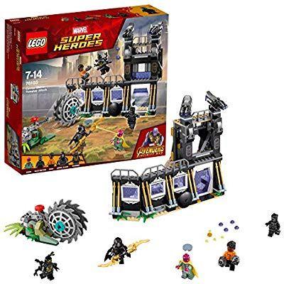 LEGO Marvel Super Heroes Corvus Glaives Attacke 76103 Superheldenspielzeug