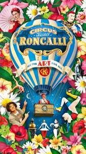 (LOKAL) 15% Circus Roncalli ALL FOR ART FOR ALL Special Gastspiel Recklinghausen