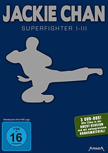 Jackie Chan - Superfighter 1-3 (3 DVDs) für 7,99€ (Amazon Prime & Saturn & Media Markt Abholung)