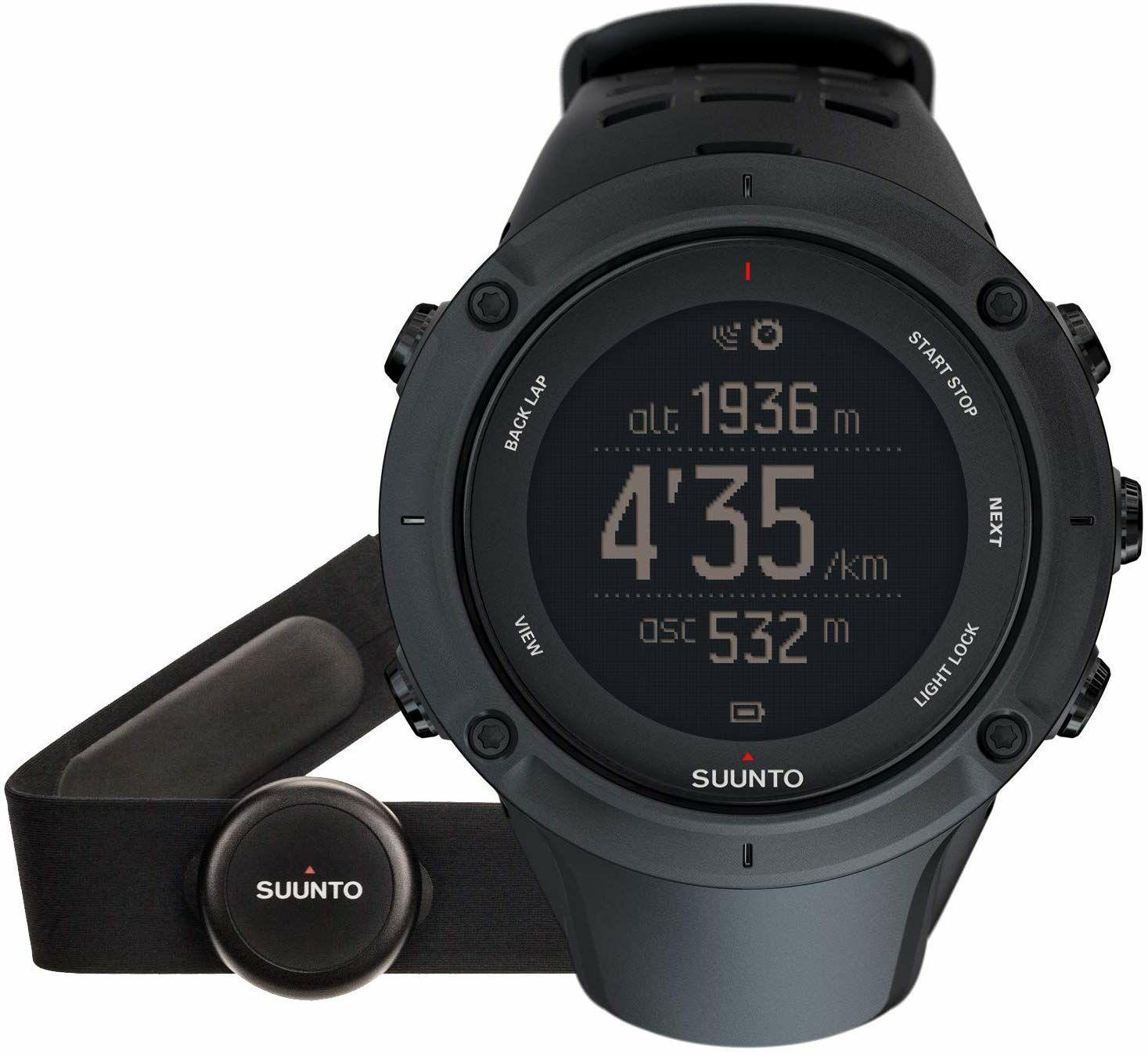 Suunto Ambit 3 Peak Black HR GPS Uhr + Herzfreuqenzbrustgurt (Amazon UK)