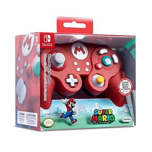 PDP Nintendo Switch Wired Fight Pad Pro (Super Mario) für 18,75€ (Amazon US)