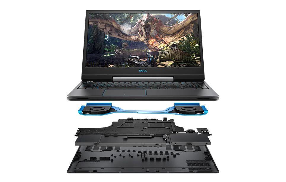 Dell G5 15 Laptop, 15 Zoll (144 hz), 16 GB i7-9750H SSD 256 GB + Festplatte mit 1 TB