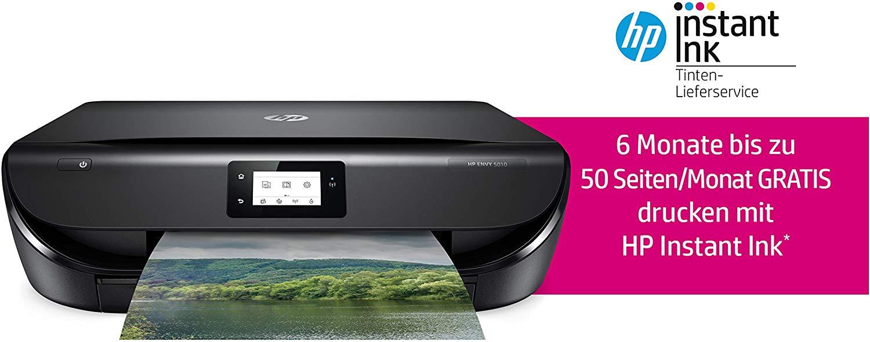 HP ENVY 5010 All-in-One Drucker + 6 Monate Instant Ink [Amazon]