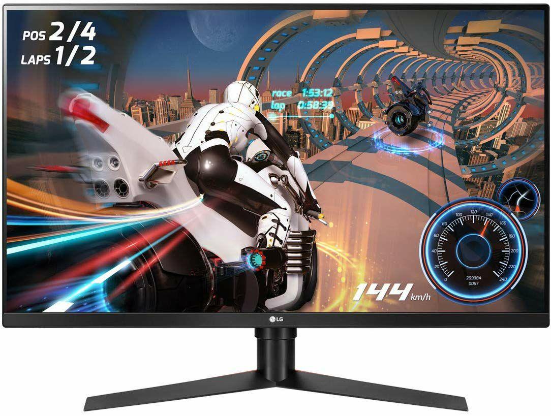 LG 32GK850F: WQHD-Monitor (31,5 Zoll, 2.560 x 1.440 Pixel, VA, 144Hz, 5ms, FreeSync 2, 16:9, 400cd/m²)