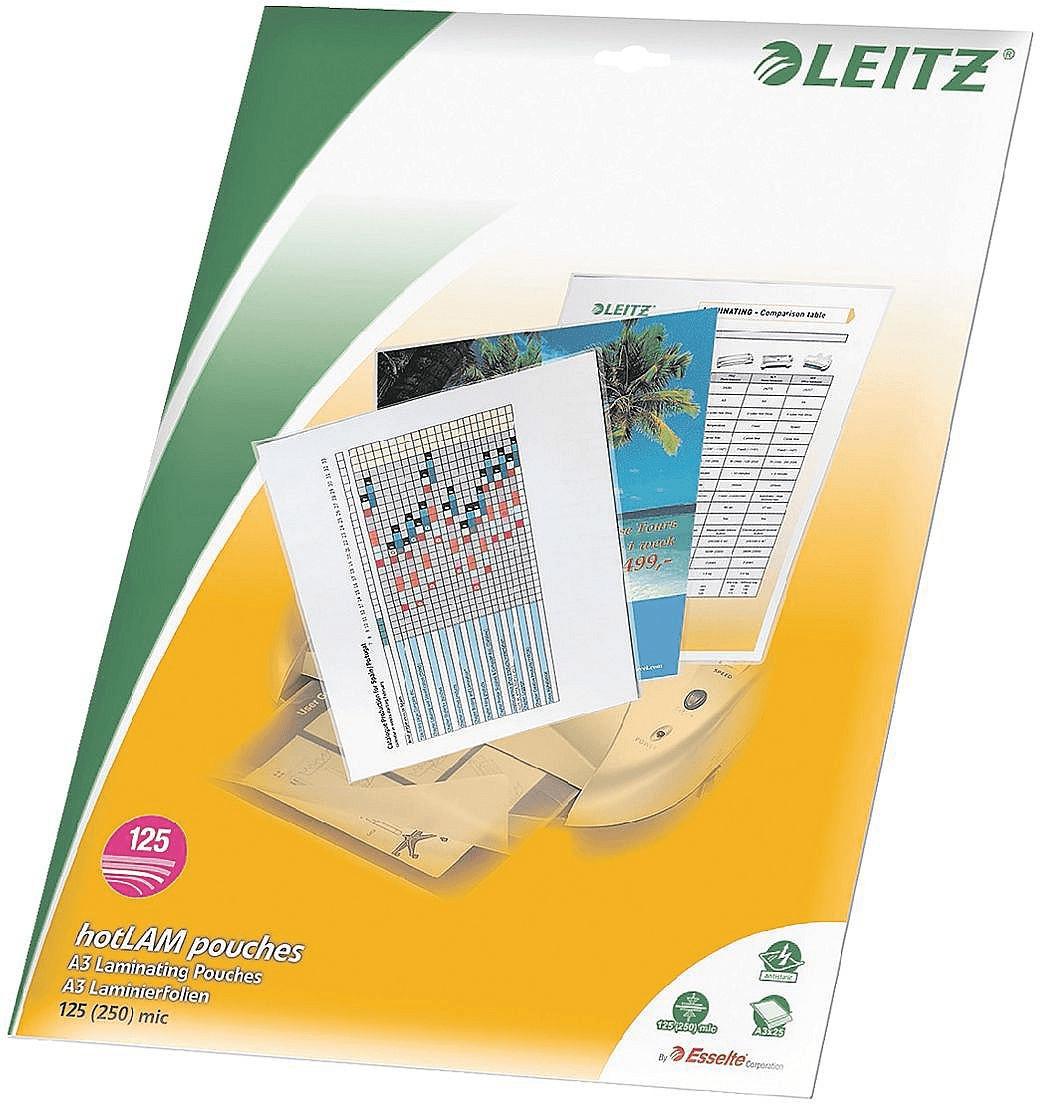 Bürotage bei MediaMarkt - Tag 1: z.B. Leitz 33836 Laminierfolie A3, 2x 125µm, glänzend, 25er-Pack für 9,99€ inkl. Versand