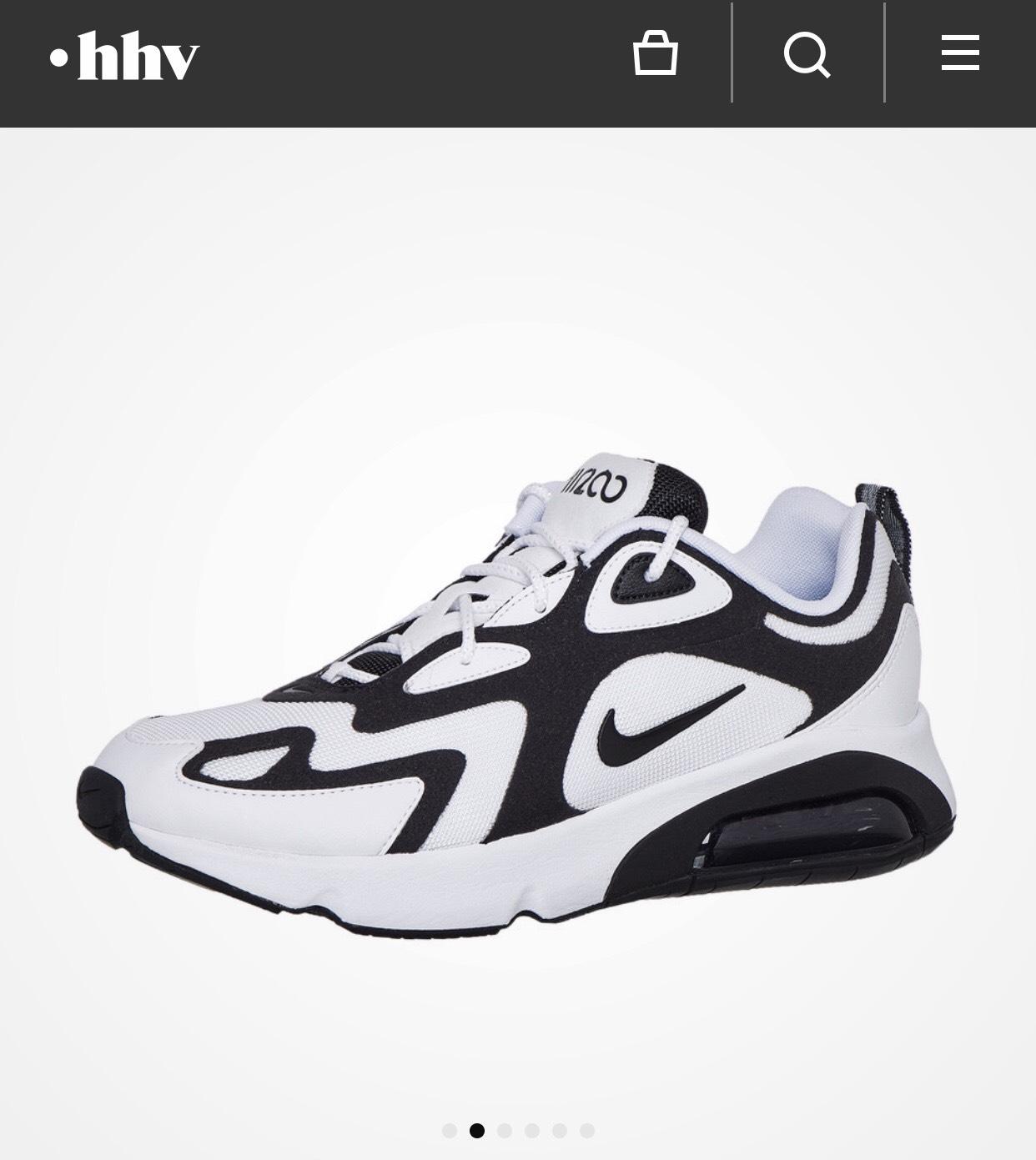 Nike Air Max 200 (White / Black / Anthracite)