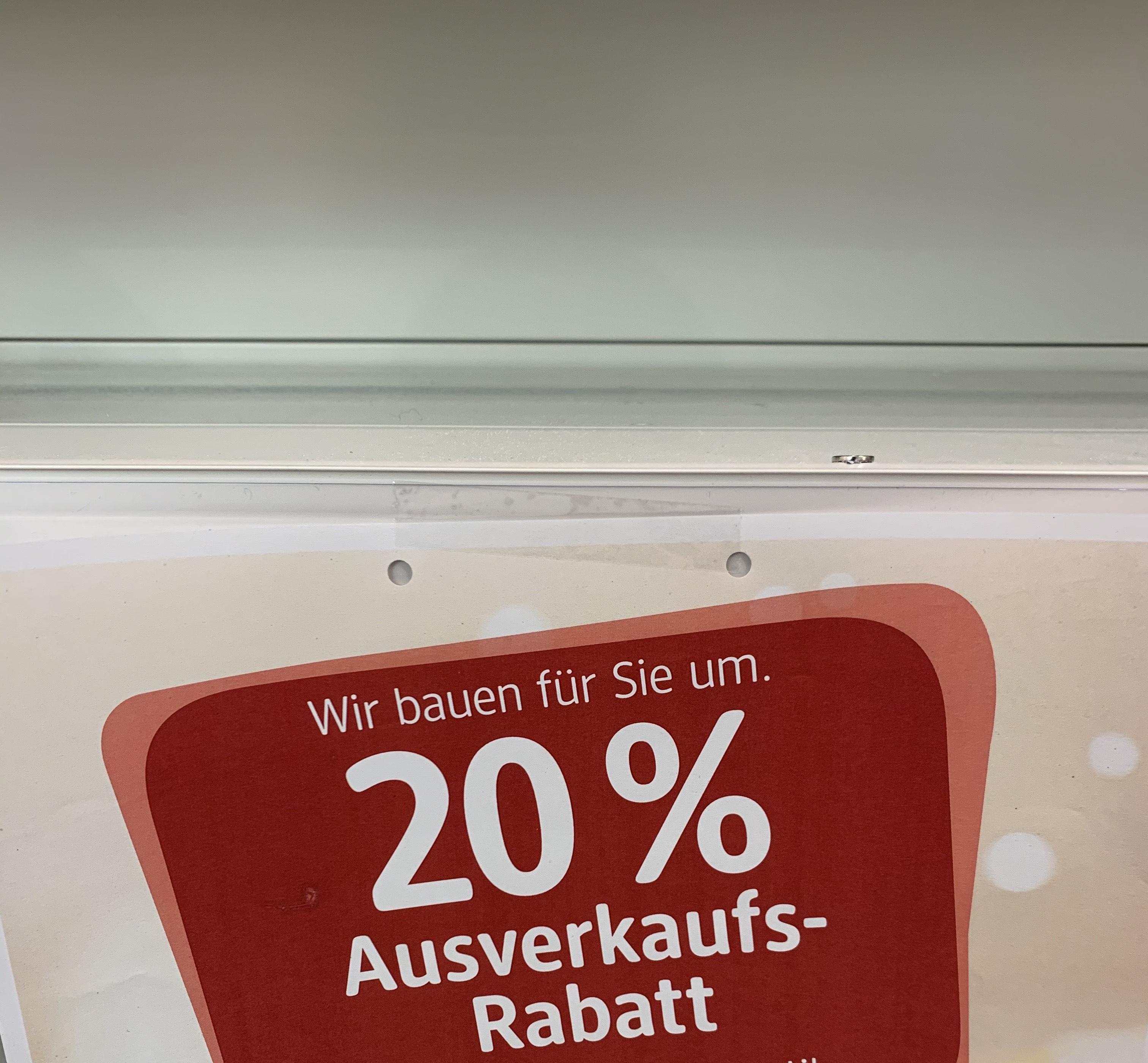 [lokal] dm Hamburg Mundsburg 20% auf alles