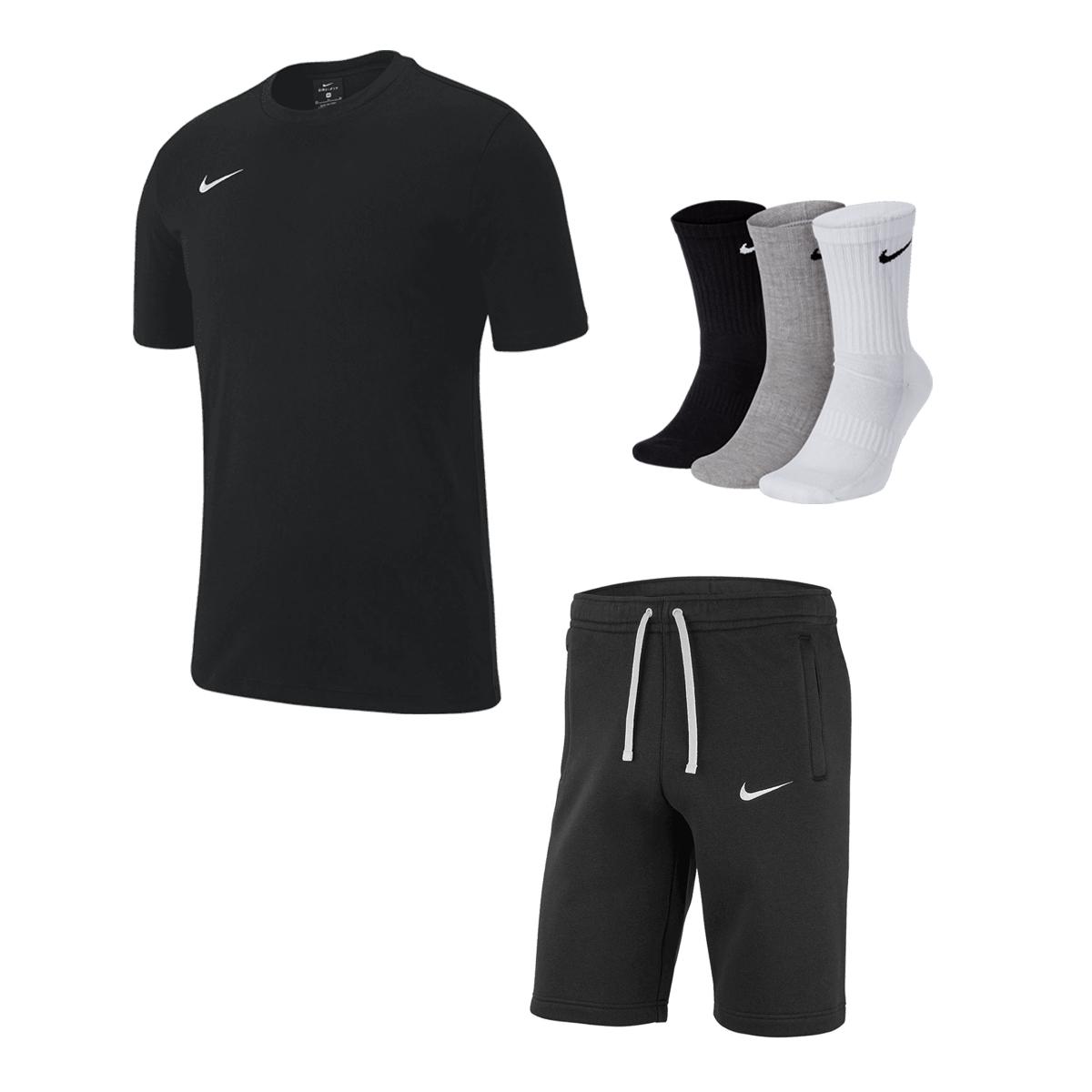 Nike Club 19 Outfit (Shirt, Shorts, 3x Socken) - Farben frei wählbar