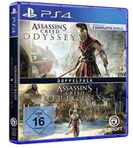 [Amazon] Assassin's Creed Odyssey + Assassin's Creed Origins (PS4/Xbox One)