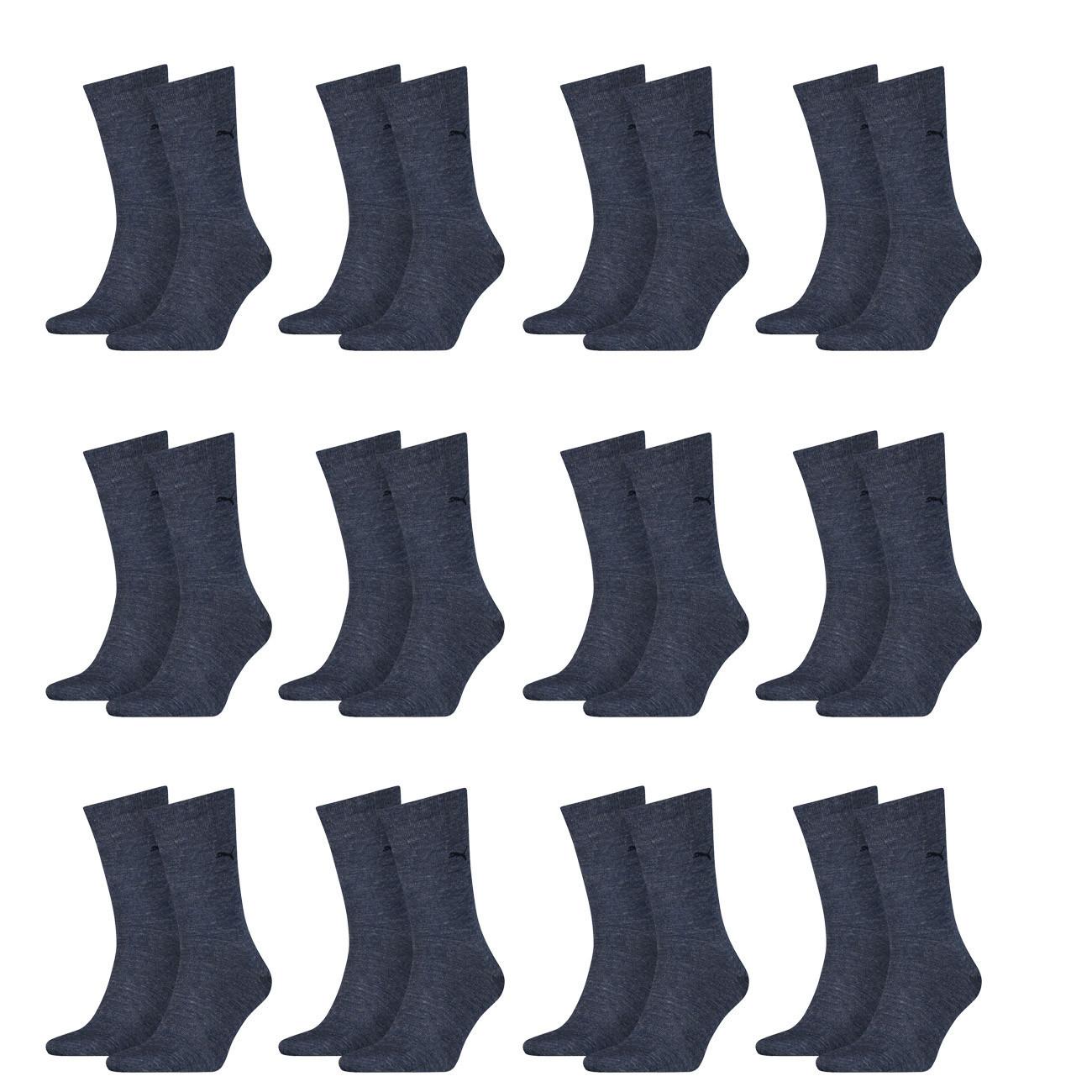 PUMA Herren Casual Socken Classic 12er Pack + 1 Paar Dailysoxx