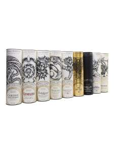 Game of Thrones limitiertes Whisky Set mit 9 Flaschen - neuste Edition - Bestpreis