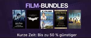 [Itunes] Film-bundles bis zu 50% günstiger (z.B. Herr der Ringe, Harry Potter , Matrix, Batman, X-Men)