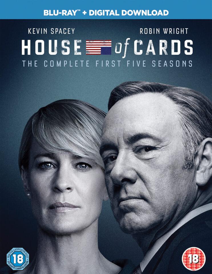 House of Cards - Staffel 1 - 5 (Blu-ray) für 18,33 ink. Versand (Zavvi)