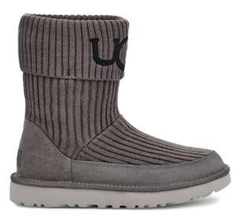 "( Limango ) UGG Schuhe für Damen, Kids & Babys Bsp.: Classic Ugg Knit"" in Grau"