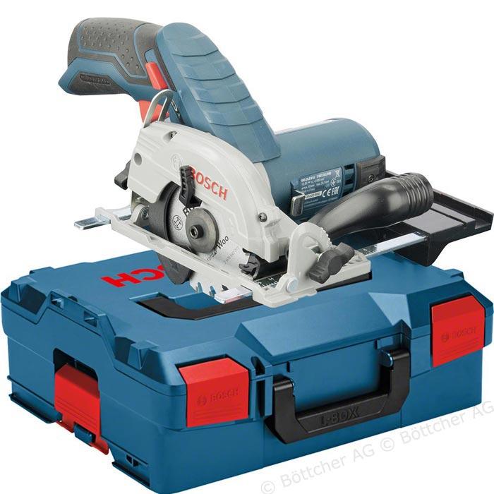 [BüromarktAG] Bosch Professional 12V System Akku Kreissäge GKS 12V-26 (Sägeblatt-Ø: 85 mm, ohne Akkus und Ladegerät, in L-Boxx)