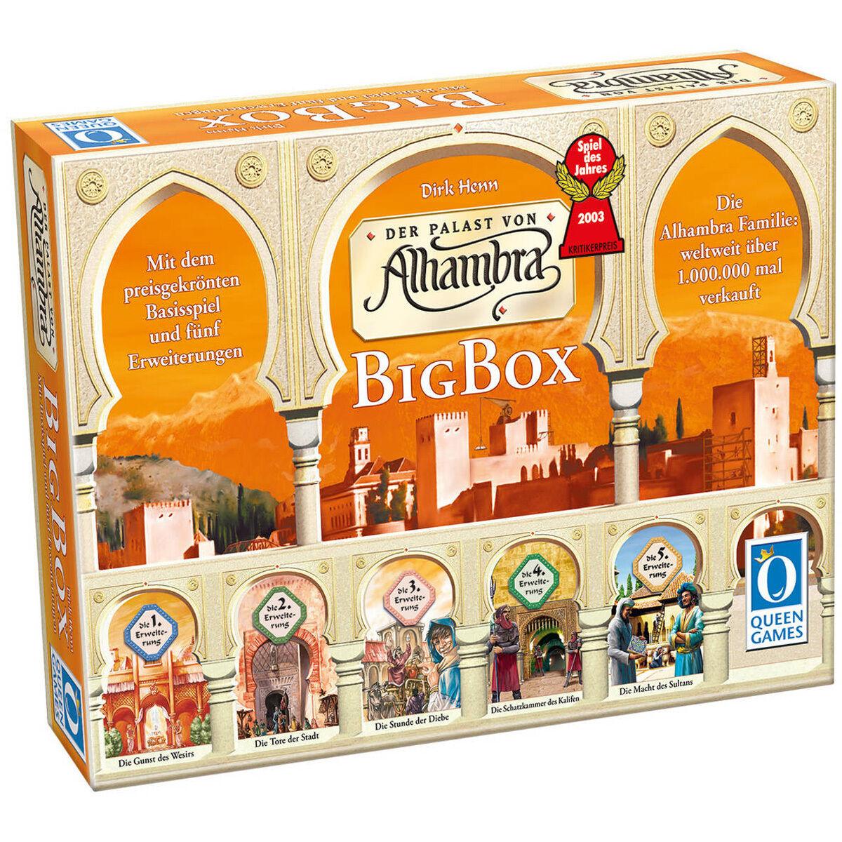 Queen Games Alhambra Big Box, Spiel des Jahres 2003