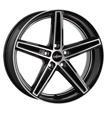 "Oxigin 18 Concave (10x22) Black Full Polish HD in 22"" für 428€ statt 518€ pro Stück | 17kg pro Felge für zB Audi"