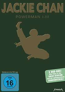 Jackie Chan - Powerman I-III (3 DVDs) für 7,99€ (Amazon Prime & Saturn & Media Markt Abholung)
