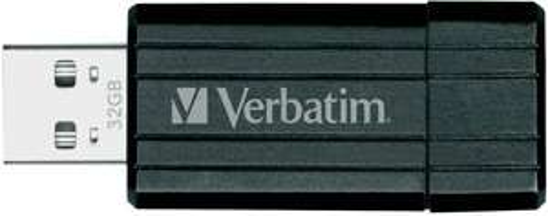 VERBATIM USB-STICK 32GB PIN STRIPE