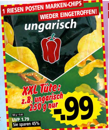 [Krümet Lokal] funny-frisch Chipsfrisch (z.B. Ungarisch 250g)