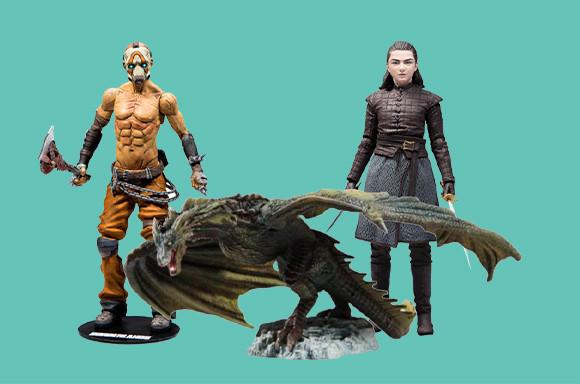 Merchandise Sale u.A. Actionfiguren von Marvel, Harry Potter uvw. zB: Game of Thrones Rhaegal [Zavvi]