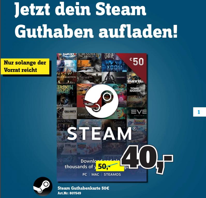 Conrad Stuttgart & Mannheim: 15€ Nintendo eShop-Guthaben für 10€, 20€ PSN für 15€, 50€ Steam für 40€, Raspberry Pi 4 B (4GB) für 43,45€