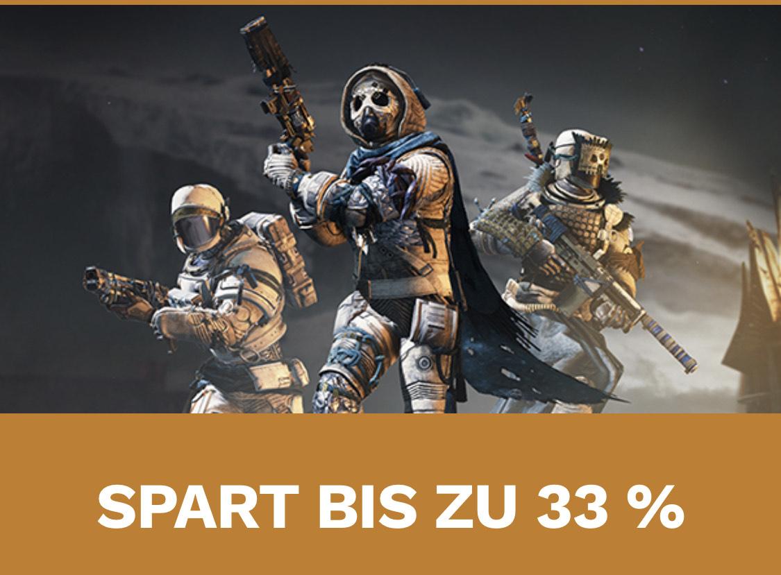 25% Rabatt auf Destiny 2 Erweiterungspaket