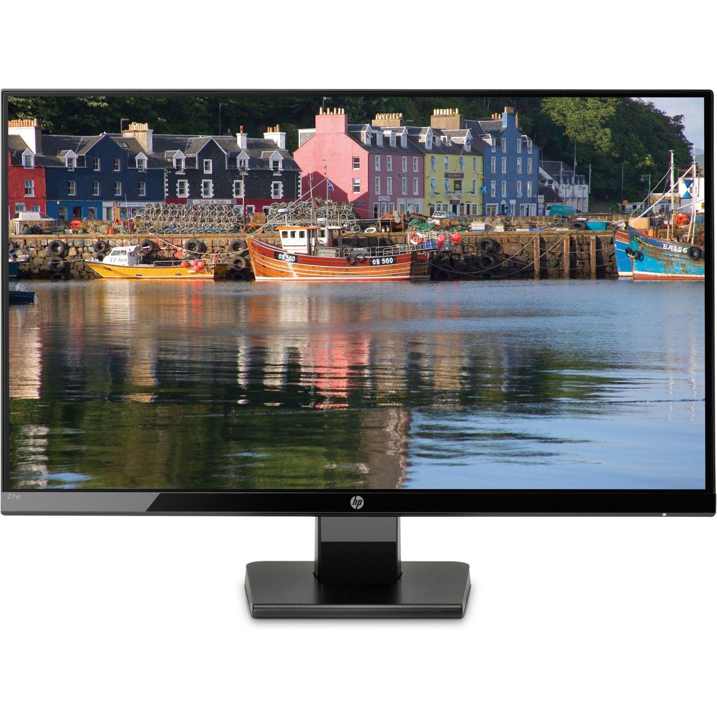 HP 27w- 68,6 cm (27 Zoll), LED, IPS-Panel, HDMI [Amazon & NBB]