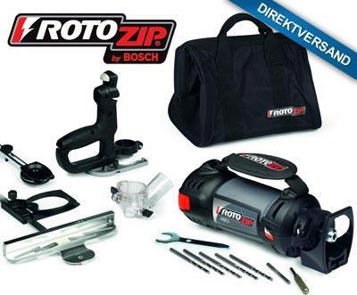 """Spiralsäge """"RotoZip® RZ5 von Bosch (DailyDeal) 99€ ink. Versand"""