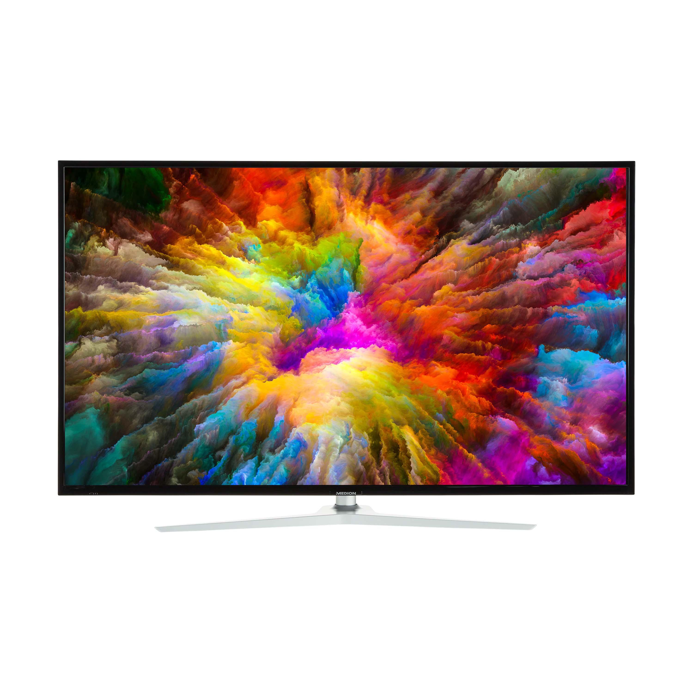 "[lokal Essen] MEDION X15502 55"" (Smart-TV, 4K, Dolby Vision HDR, Netflix, Prime Video, WLAN, HD Triple Tuner, DTS Sound, PVR, Bluetooth)"